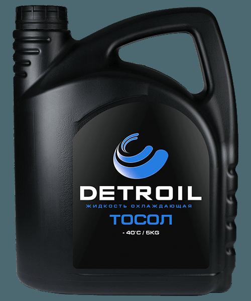 Охлаждающая жидкость DETROIL Тосол -40 (5кг)