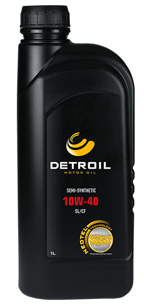 Масло DETROIL 10W-40 Semi-Synthetic (1л)