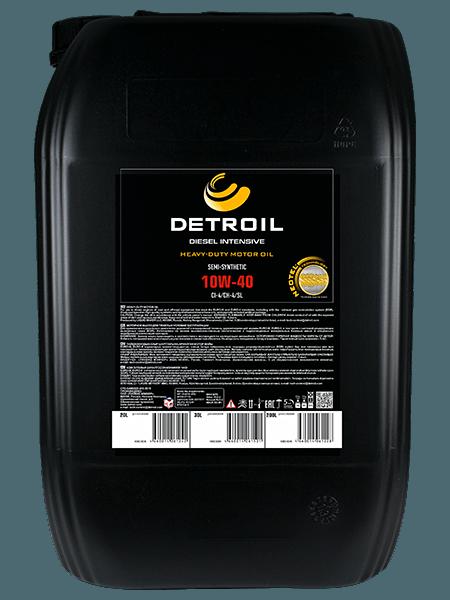 Масло DETROIL Diesel Intensive 10W-40 Heavy Duty (20л)