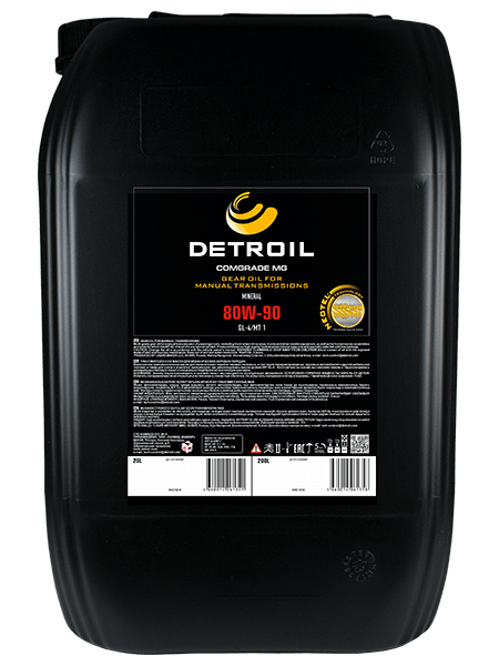 Масло моторное Масло DETROIL Comgrade МG 80W-90 GL-4 Mineral