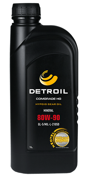 Масло DETROIL Comgrade HG 80W-90 GL-5 Mineral (1л)