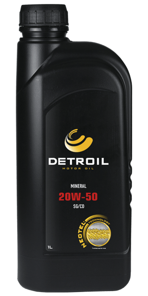 Масло DETROIL 20W-50 Mineral (1л)