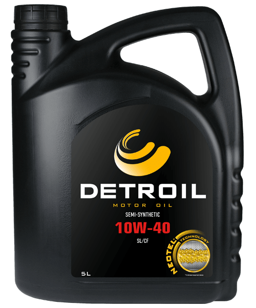 Масло DETROIL 10W-40 Semi-Synthetic (5л)
