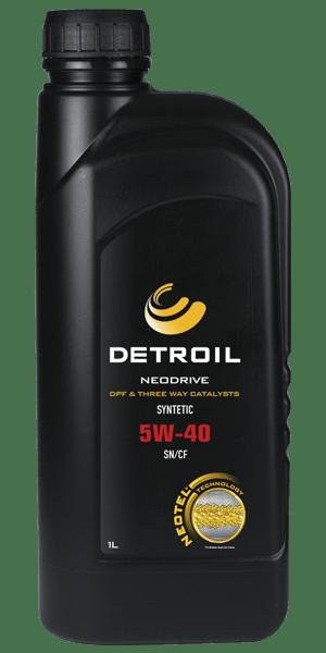 Масло DETROIL Neodrive 5W-40 DPF & TWC (1л)