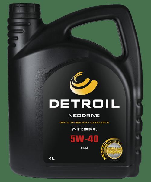 Масло DETROIL Neodrive 5W-40 DPF & TWC (4л)
