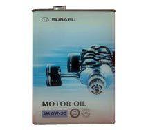 Масло моторное Subaru Motor Oil 0W-20