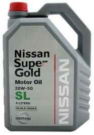 Масло моторное Nissan Super Gold 20W50 SL