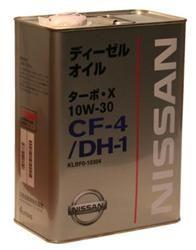 Nissan Turbo X SAE 10W-30 CF-4 DH-1