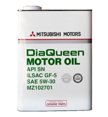 Mitsubishi Dia Queen Motor Oil SAE 5W-30 API SN/GF-5