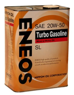 Масло моторное Eneos Turbo Gasoline SL