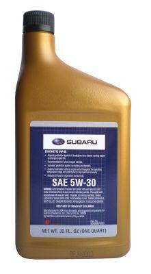 Subaru Motor Oil 5W-30