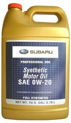Масло моторное Subaru Synthetic Oil 0W-20