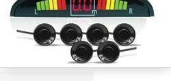 Парктроник ps-126u (6 датчиков+коннекторы, цветной светодиодный дисплей с цифровым табло) AVS A78013S