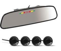 Парктроник ps-164u (4 датчика+коннекторы, зеркало + led дисплей цветной) AVS A78015S