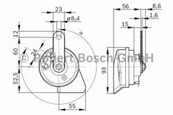 Сигнал звуковой Bosch 9 320 335 206