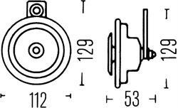 Сигнал звуковой Hella 3BA 002 768-382