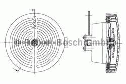 Сигнал звуковой Bosch 0 320 223 024