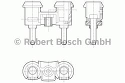 Звуковой сигнал Bosch 0 320 223 002
