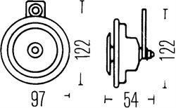 Сигнал звуковой Hella 3AL 002 952-907