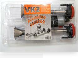 Автомобильный сигнал 24в 2шт, металлический (пневматический) voxbell vk2 24v blister Voxbell 32073
