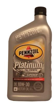 Pennzoil Platinum SAE 10W-30 Full Synthetic