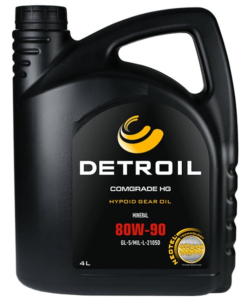 Масло DETROIL Comgrade HG 80W-90 GL-5 Mineral (4л)