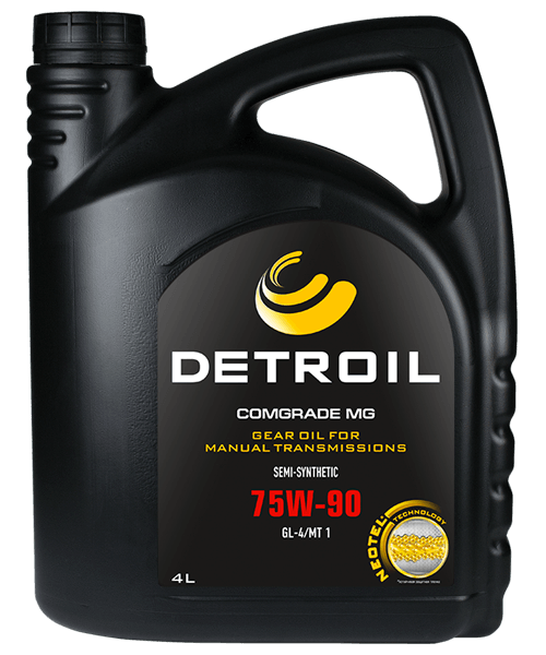 Масло DETROIL Comgrade MG 75W-90 GL-4 Semi-Synthetic (4л)